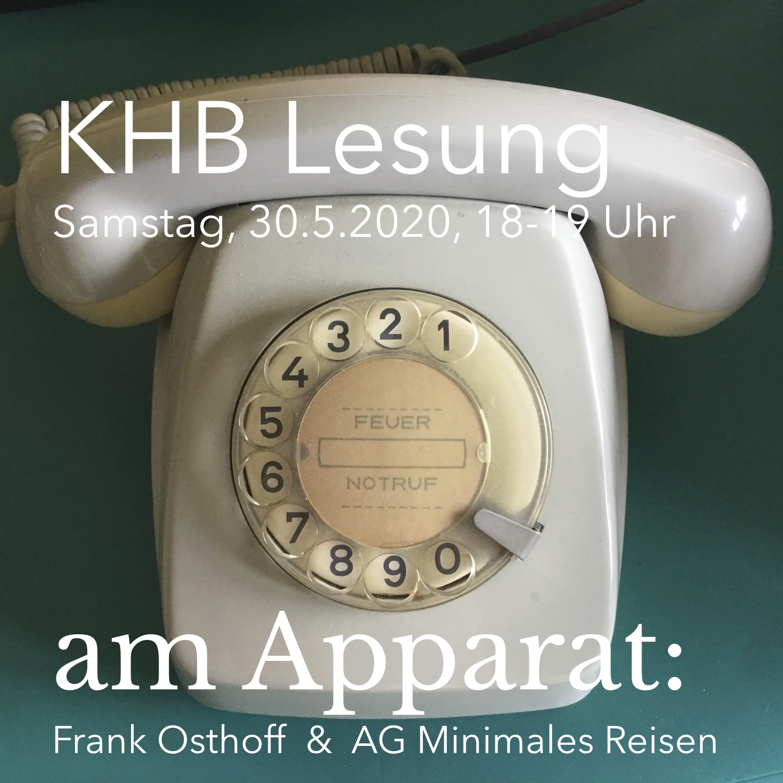 amApparat: Frank Osthoff & AG Minimales Reisen